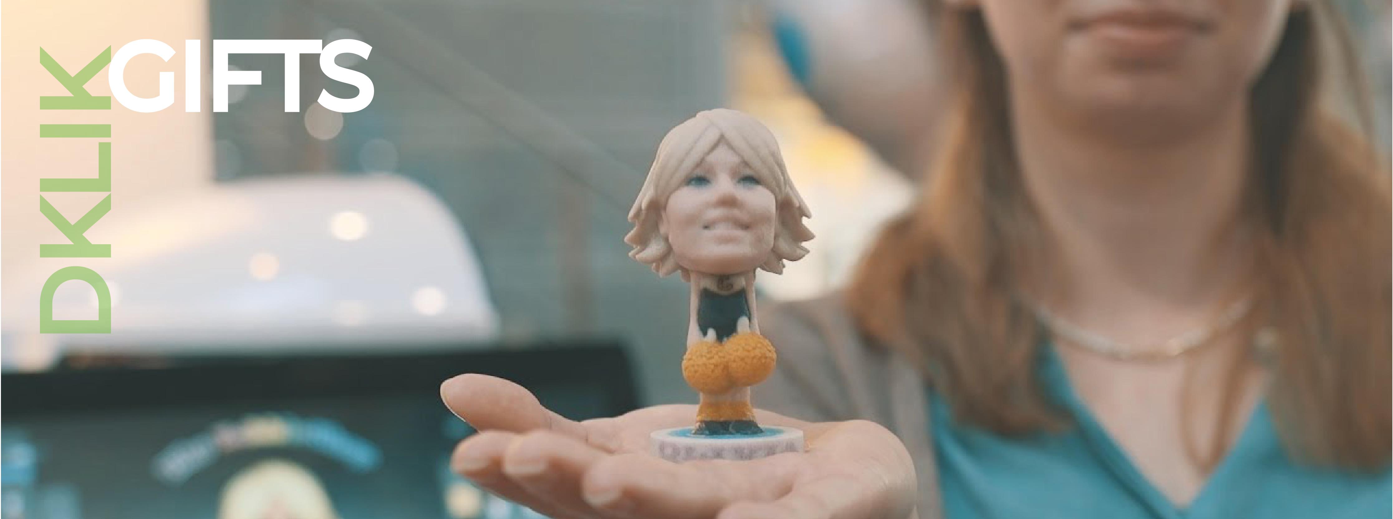 header gift figurine figurine impression 3D