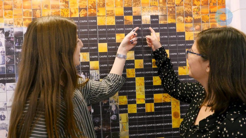 code pour mur d'image mosaïque
