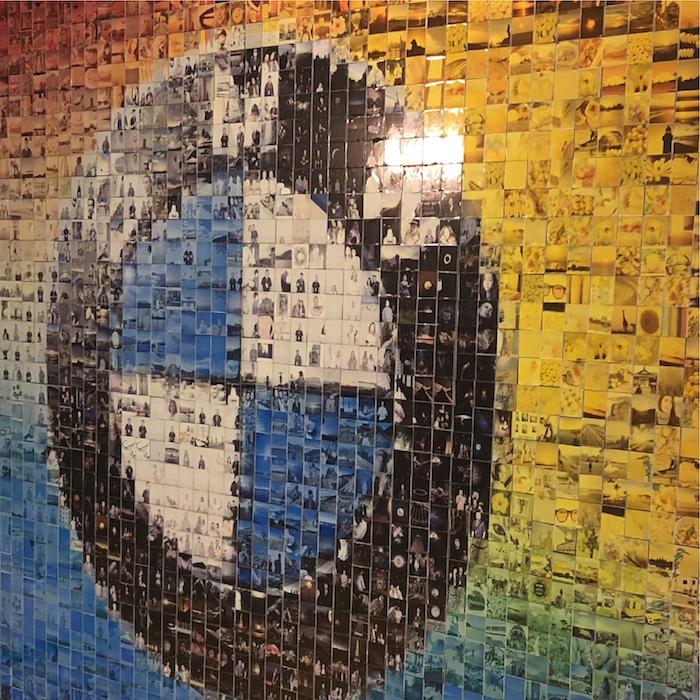 mosaïque mur d'image