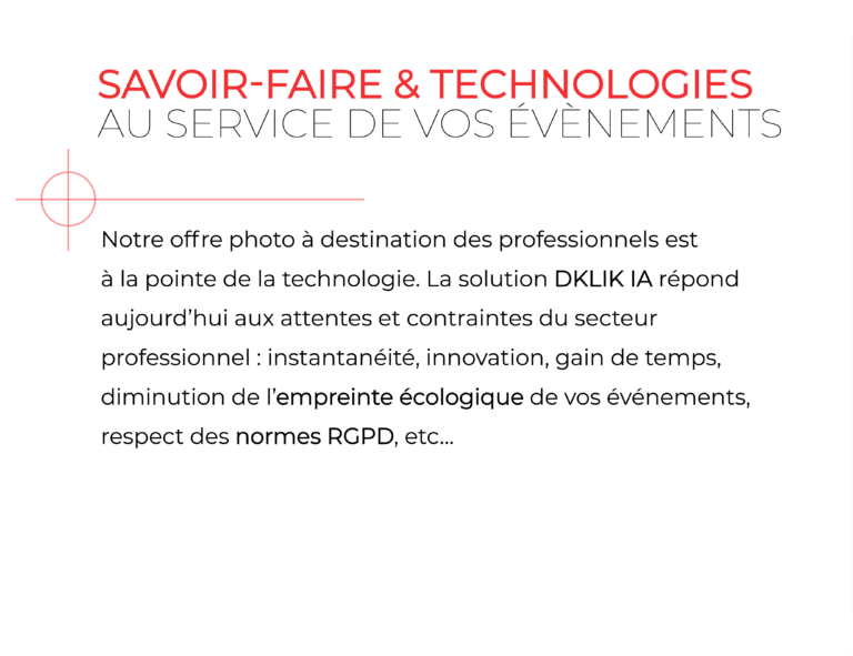 Photo évènements professionnels